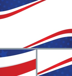 American Independence Day Abstract Background vector image