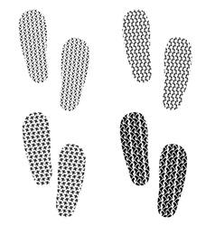 Set of Imprints vector image