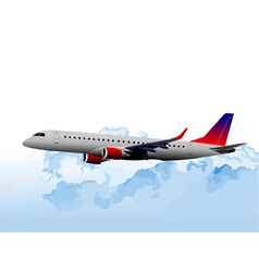 al 0831 plane 01 vector image