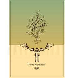 Banner menu vector