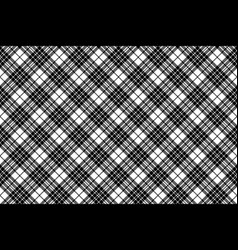 Blackberry tartan clan black white pixel seamless vector