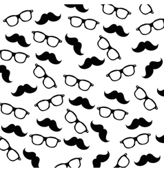 hipster fashion accesories vector image