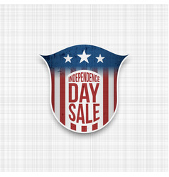 independence day sale banner design template vector image