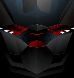 Tech robot abstract vector