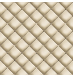 Leather upholstery vector image