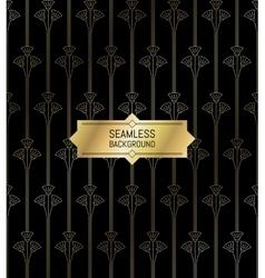Seamless modern pattern golden texture background vector image