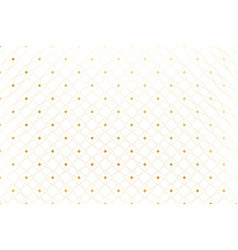 Golden texture geometric edged pattern with vector