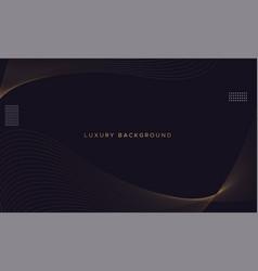 Minimal luxury background vector