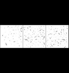 music notes mensural musical notation black notes vector image
