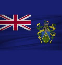 pitcairn islands flag flag of pitcairn islands vector image