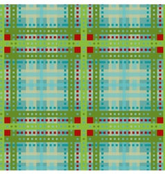 Tartan plaid seamless pattern vector image