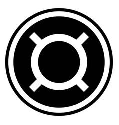 generic currency symbol icon vector image vector image