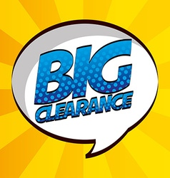 commercial label vector image vector image