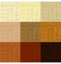 the wooden textures vector image