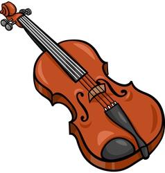 violin cartoon clip art vector image vector image