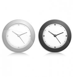 wall clock object vector image