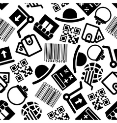 Ecommerce and online shopping seamless pattern vector image