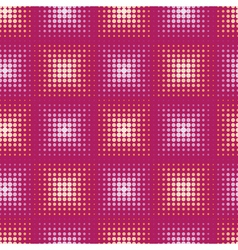 Seamless abstract pattern with stylized circle vector image vector image