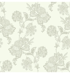 Elegance Seamless pattern with flowers roses flor vector