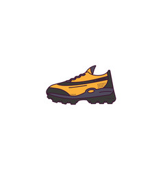 fictional sneakers model vector image