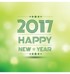 Happy new year 2017 2 vector