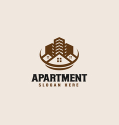 Real estate logo design template - good to use vector