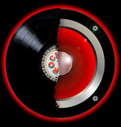 Record speaker vector