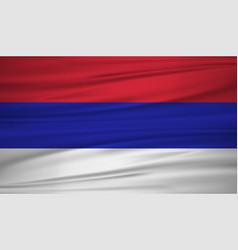 Republika srpska flag flag of republika srpska vector