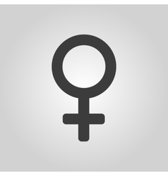 The women icon Female symbol Flat vector image