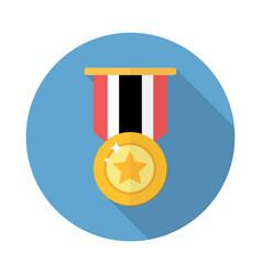 award medal icon vector image