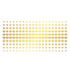 diamond gold halftone pattern vector image