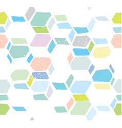 hexomania seamless pattern vector image