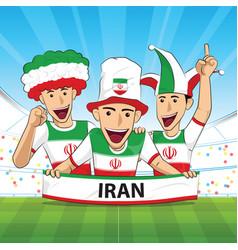 Iran football support vector