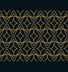 seamless abstract wave pattern background vector image