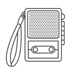 Recorder of broadcasting concept vector