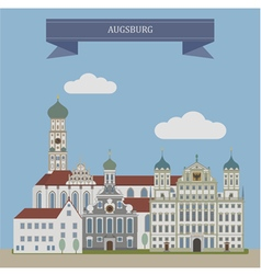 Augsburg vector image vector image