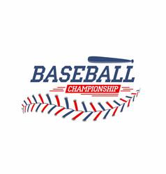 baseball background baseball ball laces stitches vector image vector image