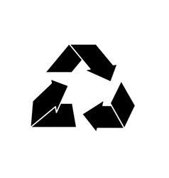 Contour environment care symbol to protection of vector