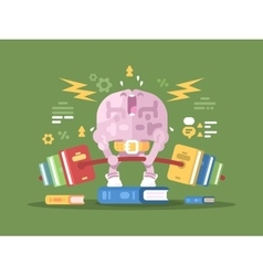 Brain lifting weight vector