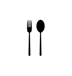 dishware icon black vector image