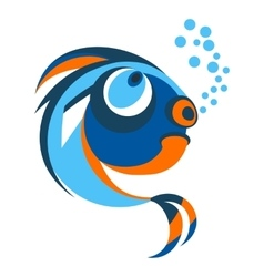 fish from coral reefs vector image