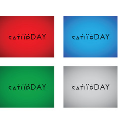 Friday to saturday turning text set vector