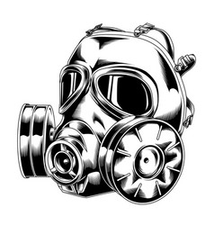 Gas mask 04 tactical military 2 vector