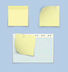 paper templates for notes vector image