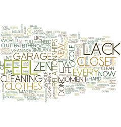 Lack lack fills a gunny sack text background word vector