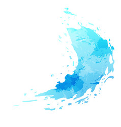 splatter paint stain abstract background vector image vector image