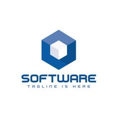 Box software logo vector