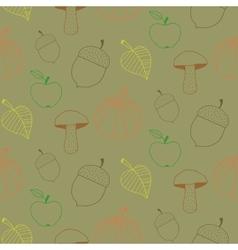 Doodle Autumn Background vector