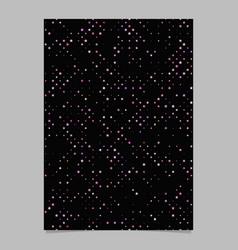 Geometrical pentagram pattern brochure background vector