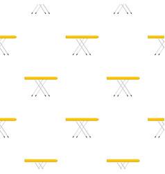Ironing board pattern flat vector